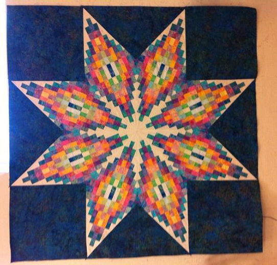 Madison Star Quilt Free Pattern