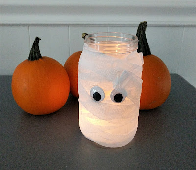 Mummy Jar Craft