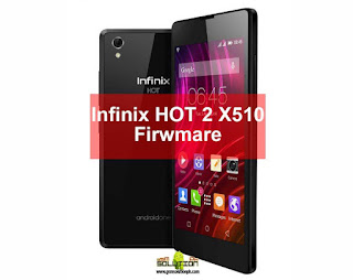 Infinix HOT 2 X510 Firwmare ROM MT6580