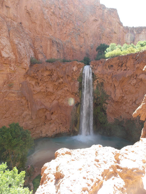 Helicoptering out of Havasu Falls