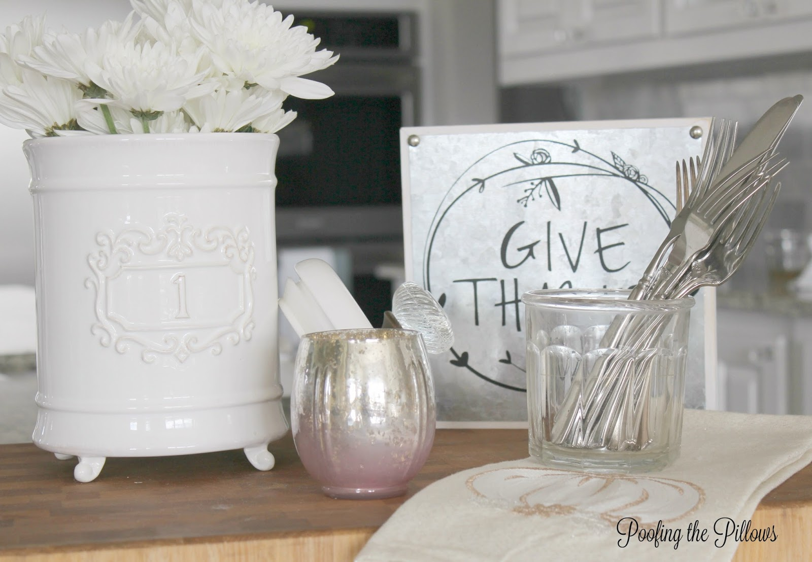 A kitchen vignette created as part of Ten on the 10th where bloggers share ideas for life that cost less than $10.