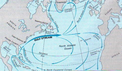 gulf map 10 Teori Tentang Misteri Segitiga Bermuda