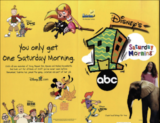 Disney's One Saturday Morning Ad