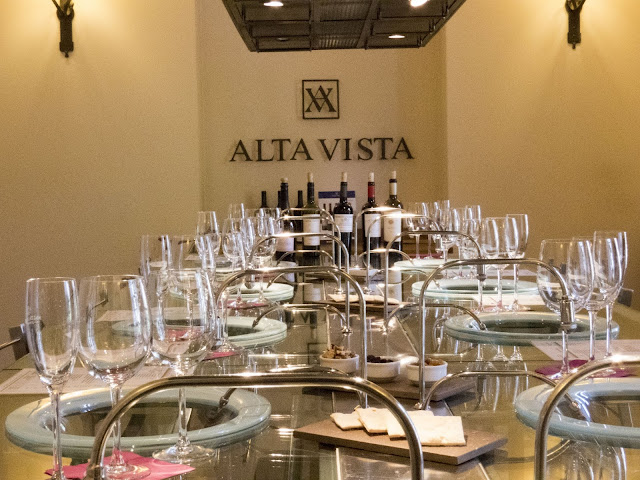Fun things to do in Mendoza: Tasting room at Alta Vista Winery