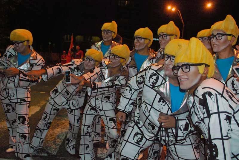 Desfile Inaugural del Carnaval. 2015. Los Muchachos.
