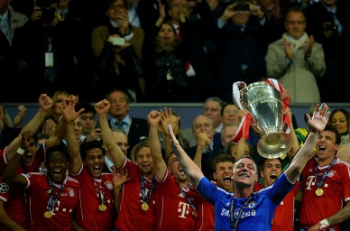 John Terry shameless Champions League Final 2013 Wembley