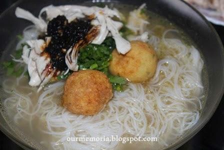 Resipi Bihun Soto Ayam yang ringkas tapi sedap