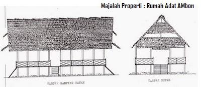 Desain Bentuk Rumah Adat Ambon dan Penjelasannya, Budaya Indonesia