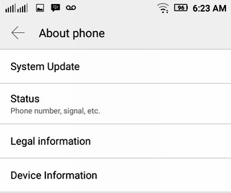 cara mengetahui spesifikasi android