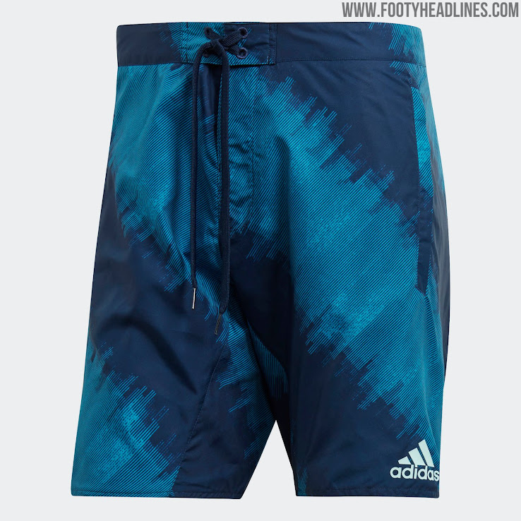 1c5c63a8a8 Adidas Launch Argentina and Mexico Board Shorts - Footy Headlines