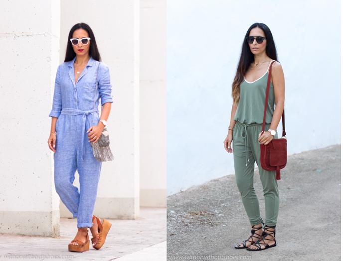 Resumen de los mejores looks vacaciones verano otoño de la blogger influencer de moda de Valencia withorwithoutshoes