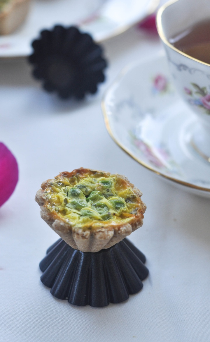 Best of Fingerfood: gluten free mini Quiches
