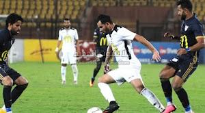 الانتاج الحربي يعود بالفوز من امام اسوان بهدف وحيد في الجولة التاسعه من الدوري المصري