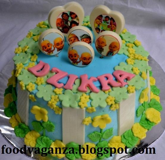 AYLAS N AYRA UPIN IPIN BIRTHDAY CAKE