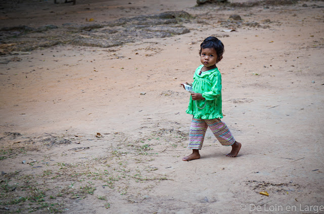 Enfant - Angkor - Cambodge