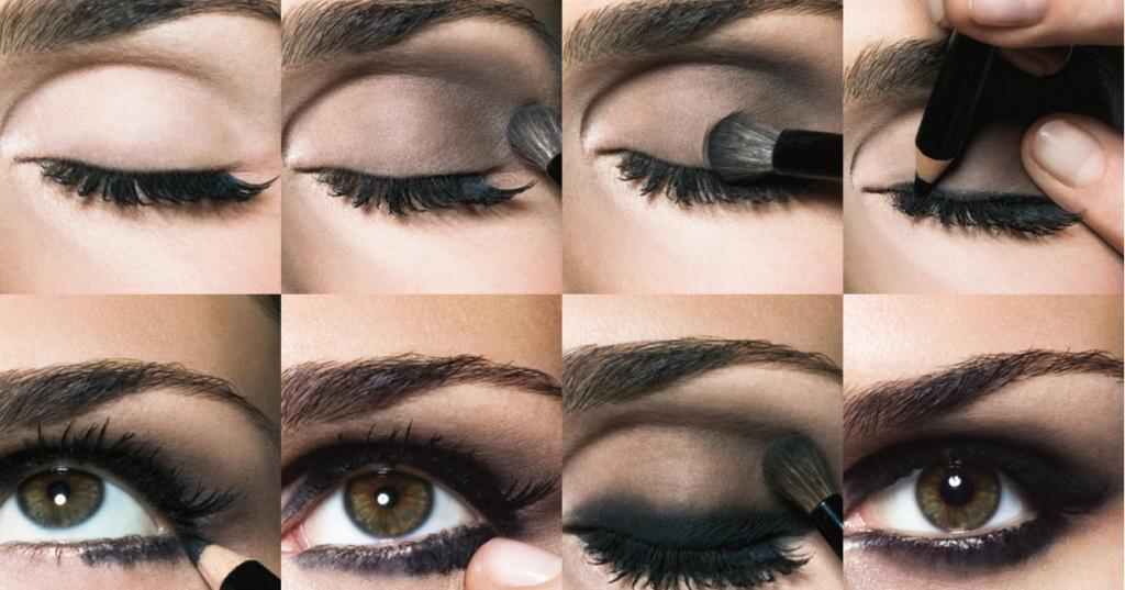 moda mujer actual estilos de maquillaje de ojos ahumados. Black Bedroom Furniture Sets. Home Design Ideas
