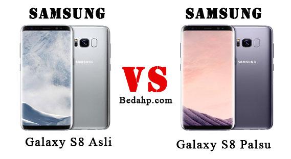 Cara Mengecek Samsung S8 Asli dan Replika