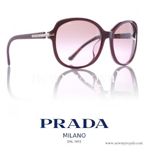 Crown Princess Mary wore Prada Sunglasses