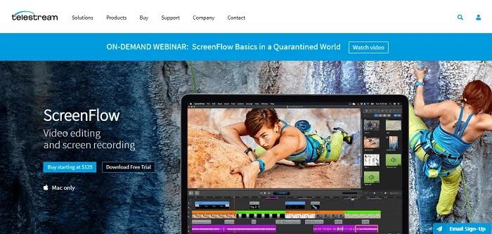 ScreenFlow - Camtasia Alternatives Screen Recorders