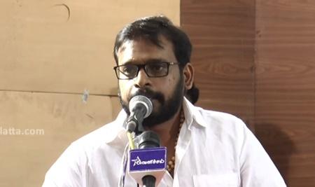 Being a journalist is easier now than 10 years before | Raju Murugan's Speech