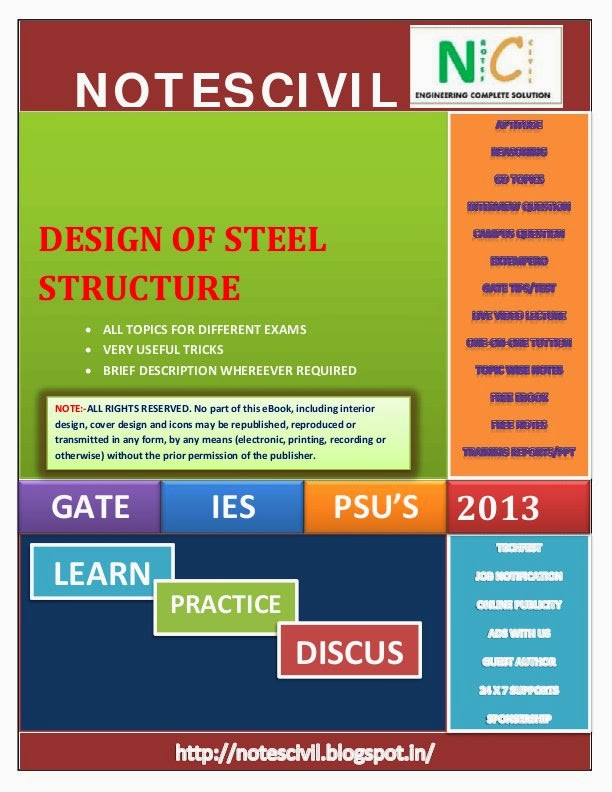 Gate Study Material For Civil Engineering Pdf