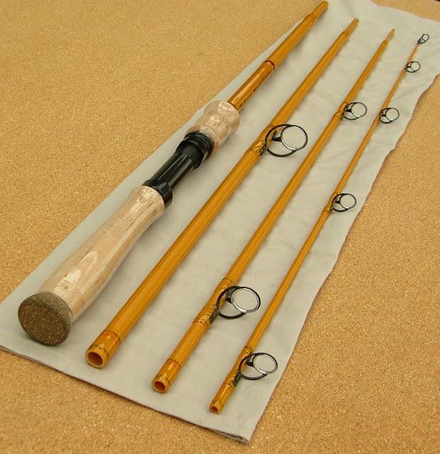 GRAYWOLF RODS - McFarland Rods Yellow Glass 7 6  Spinning Rod