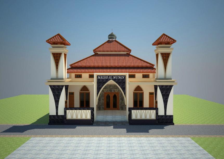Contoh Desain Masjid Minimalis Modern Terbaru 2016 ...