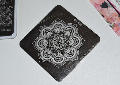 Les Stamping Plates BornPrettyStore BP-X15