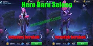 Hero Baru Selena, Hero Mage Assassin Mobile Legends