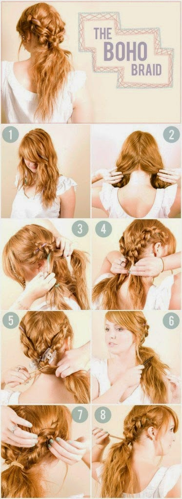 5 Curly Hairstyle Tutorials