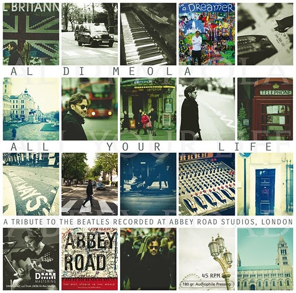 Hommage aux Beatles : Al Di Meola publie l'album «All Your Life»