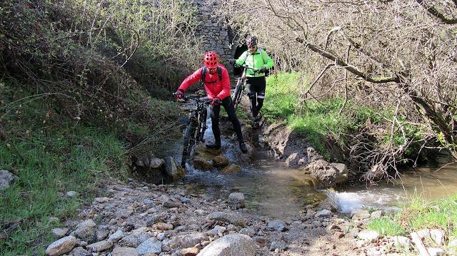 AlfonsoyAmigos - Rutas MTB - Garganta Río Moros