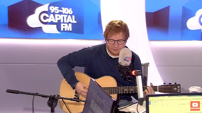 "Ed Sheeran Performs ""Castle On The Hill"" On Capital FM"