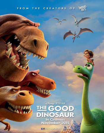 Poster Of The Good Dinosaur 2015 Hindi Dual Audio 400MB BluRay 720p ESubs HEVC Free Download Watch Online downloadhub.in