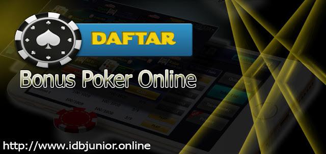 Bonus Situs Poker Terpercaya