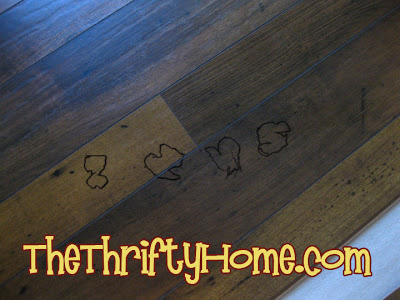 The Thrifty Home Laminate Floor 101st Penny Pinching Party
