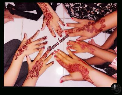 Cucu Henna Herbalis Ukir Henna Pengantin, di Subang