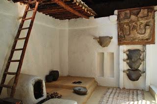 Reconstrucción Casa Catalhoyuk