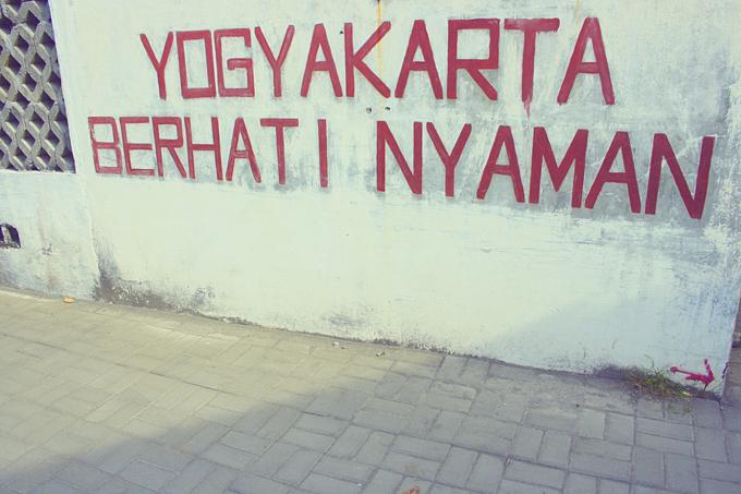 yogyakarta and my final assignment