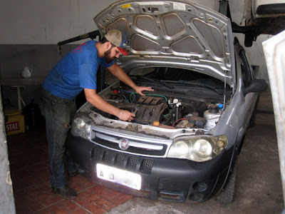 BIRO  CENTRO AUTOMOTIVO  Mecânica em Geral  Rua. Paulo Faustino, 245  Residencial Alvorada - Tatuí - SP  tel: (15) 99738-7101