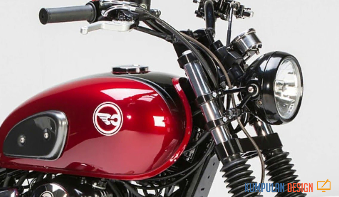 Old Legacy debut of Kawasaki at W175 Retro Sport Motorbike