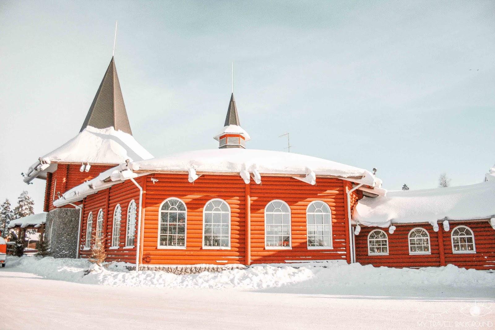 My Travel Background : le jour où j'ai rencontré le Père Noël en Laponie