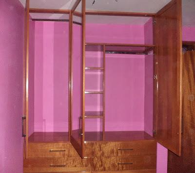 Closet de madera en Lima