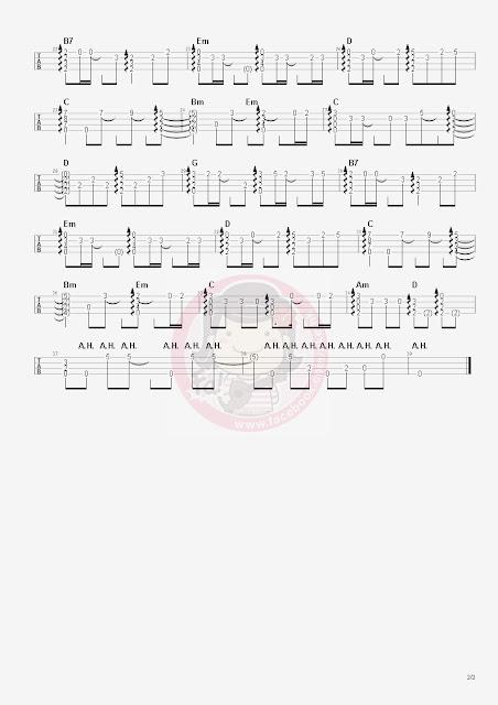 陳展鵬、胡定欣:從未知道你最好(城寨英雄片尾曲)ukulele獨奏譜1