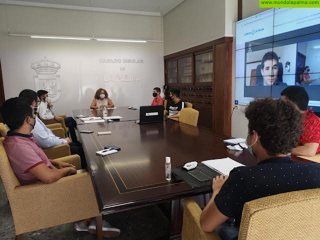 El Cabildo avanza en el reglamento del Consejo de la Juventud de La Palma