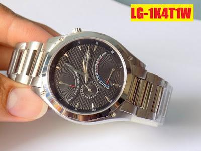 Đồng hồ nam dây inox trắng Longines 1K4T1W