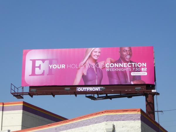 ET Your Hollywood connection billboard