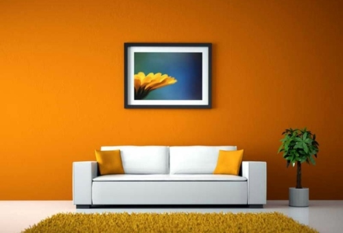 Pilihan warna cat untuk ruang tamu yang sejuk Rancangan Warna Cat Ruang Tamu yang Sejuk