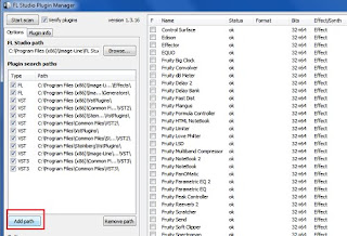 pengaturan Plugin manager fl 12.1