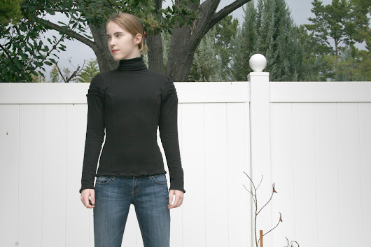 A New Twist on the Turtleneck (and my first Lekala Pattern)